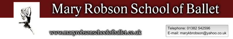 Mary Robson School of Ballet, Ballet and Dance School in Fife